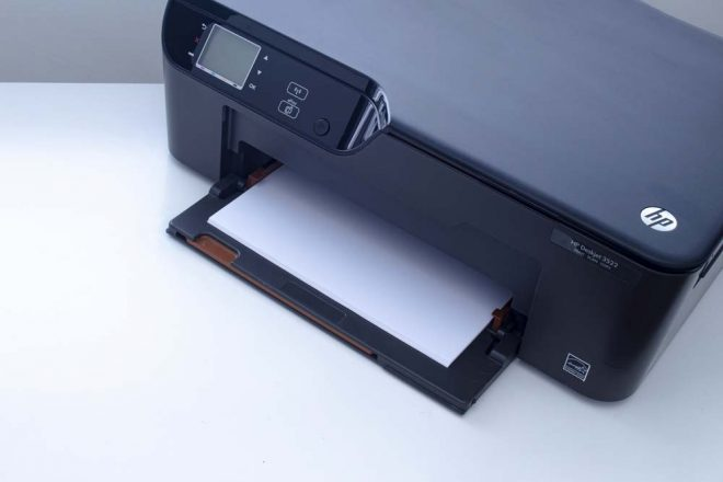 how do i switch my hp printer from offline to online